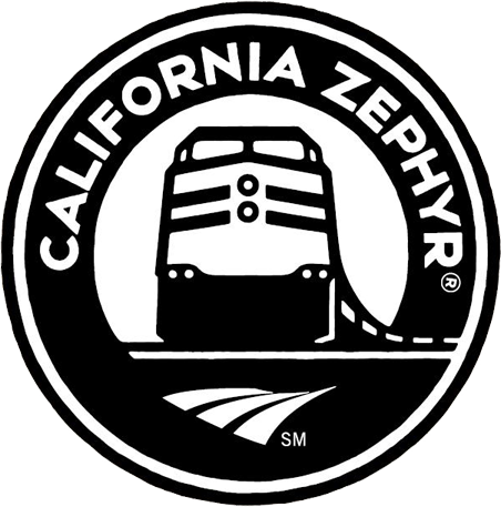california zephyr logo